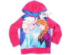 "Bluza z kapturem Frozen ""Best Friends"" różowa 6 lat"