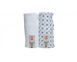 PIELUSZKI 2-PACK LODGER BALI/WHITE